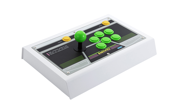 Sega Astro City Mini Arcade Stick Vert ©SEGATOYS